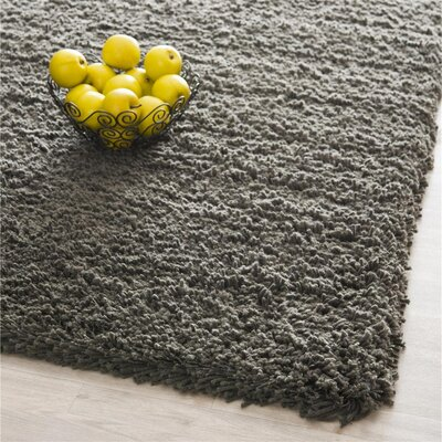 Starr Hill Charcoal Area Rug Rug Size: Rectangle 96 x 136