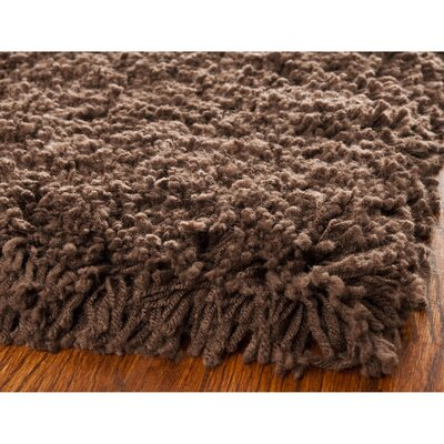 Holliday Chocolate Area Rug Rug Size: 4 x 6