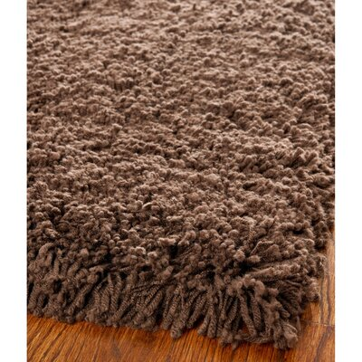 Boice Chocolate Area Rug Rug Size: 76 x 96