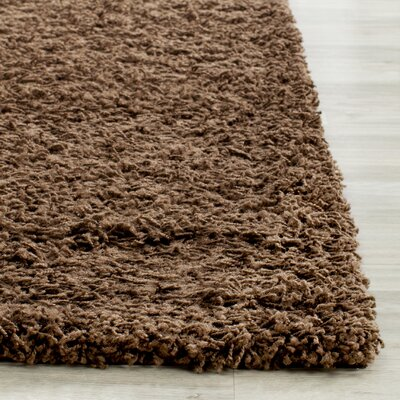 Boice Brown Area Rug Rug Size: 4 x 6