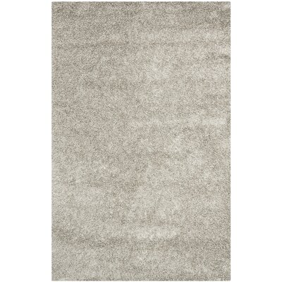 Holliday Silver Area Rug Rug Size: Rectangle 5 x 8