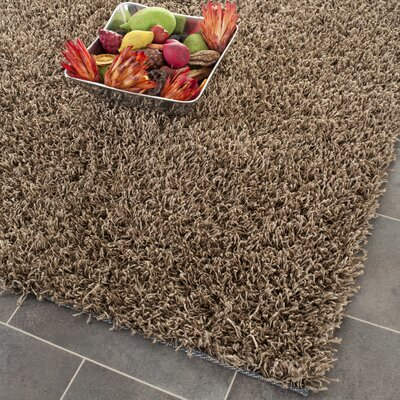 Holliday Light Brown Area Rug Rug Size: Rectangle 8 x 10