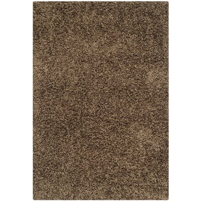 Holliday Light Brown Area Rug Rug Size: 3 x 5