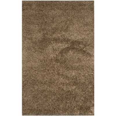 Starr Hill Light Brown Area Rug Rug Size: Square 5