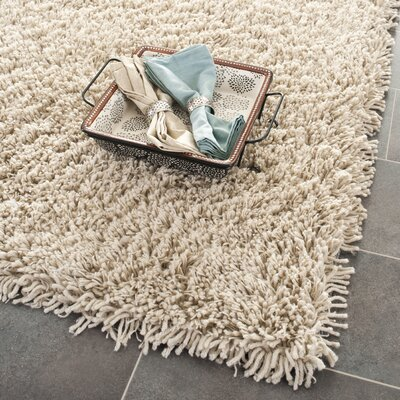 Holliday Taupe Area Rug Rug Size: 76 x 96
