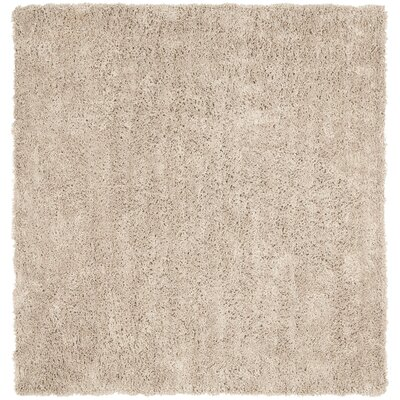 Holliday Taupe Area Rug Rug Size: Square 7
