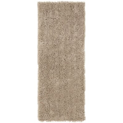 Starr Hill Taupe Area Rug Rug Size: Runner 23 x 8