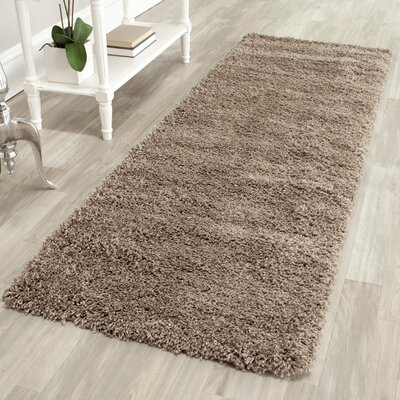 Boice Taupe Area Rug Rug Size: Runner 23 x 7