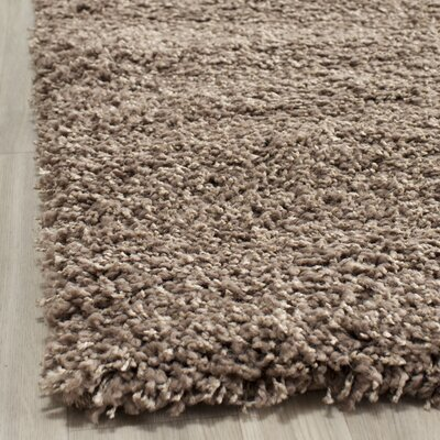 Boice Taupe Area Rug Rug Size: 96 x 13