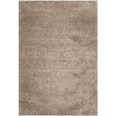 Boice Taupe Area Rug Rug Size: Rectangle 3 x 5