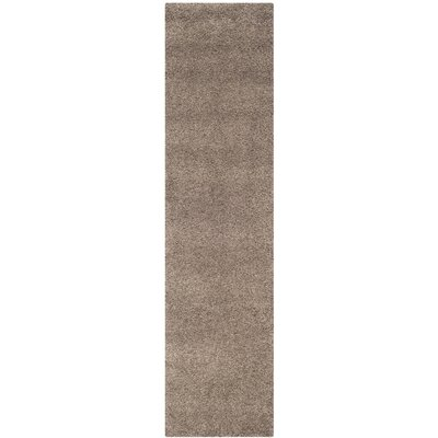 Boice Taupe Area Rug Rug Size: Runner 23 x 9