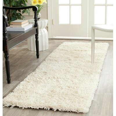 Holliday Ivory Area Rug Rug Size: Round 8