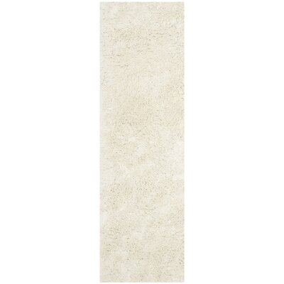 Holliday Ivory Area Rug Rug Size: Runner 23 x 8