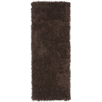 Boice Chocolate Area Rug Rug Size: Runner 23 x 6