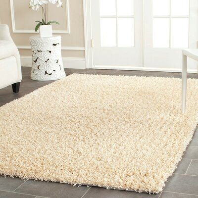 Holliday Creme Area Rug Rug Size: 3 x 5