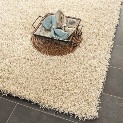 Holliday Creme Area Rug Rug Size: Rectangle 8 x 10