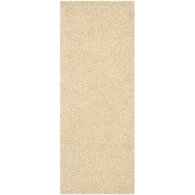 Boice Creme Area Rug Rug Size: Runner 23 x 6