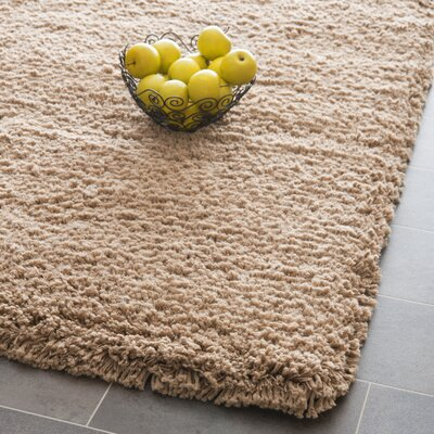 Holliday Modern Taupe Area Rug Rug Size: Rectangle 96 x 136