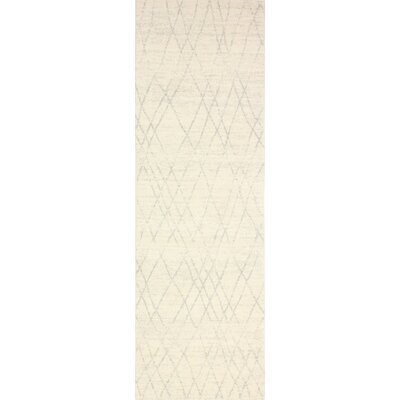 Danvers Ivory/Silver Area Rug Rug Size: Runner 26 x 8