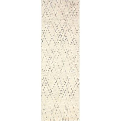 Danvers Ivory/Grey Area Rug Rug Size: Runner 26 x 8