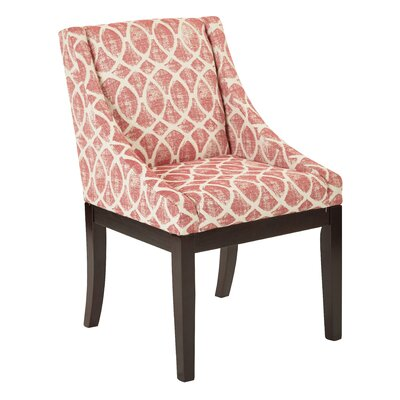 Herkimer Wingback Chair Upholstery: Mist Geo Brick