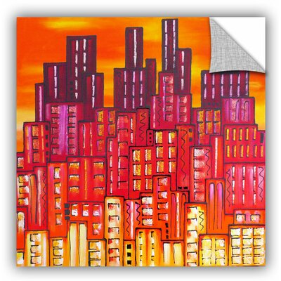 City Lights 11 Painting Print Size: 14