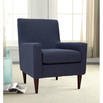 Bohn Arm Chair Upholstery: Navy