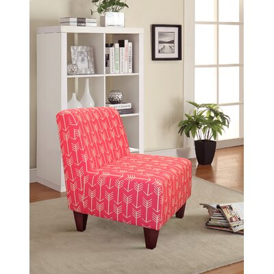 Madiun Slipper Chair Upholstery: Candy Pink
