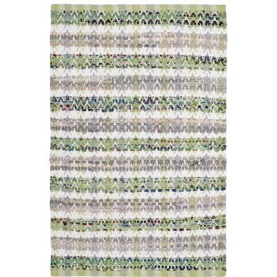 Ingleside Hand-Woven Green/Gray Area Rug Rug Size: Rectangle 8 x 10