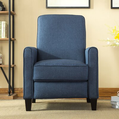 Oakely Recliner Upholstery: Blue