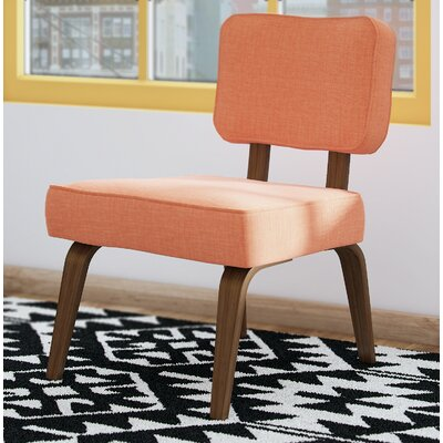 Narberth Side Chair Upholstery: Deep Orange
