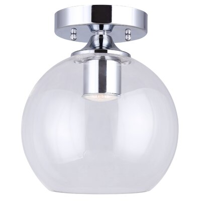 Bojorquez 1-Light Semi Flush Mount