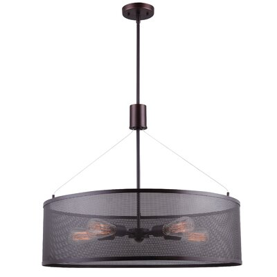 Alburgh 5-Light Semi Flush Mount
