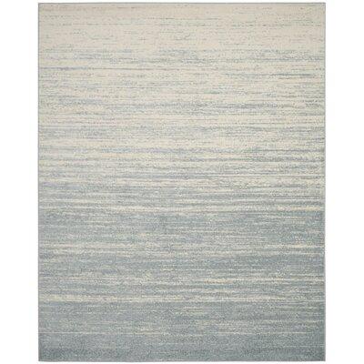 Schacher Slate/Cream Area Rug Rug Size: 8 x 10