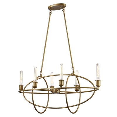 Bohan 6-Light Candle-Style Chandelier