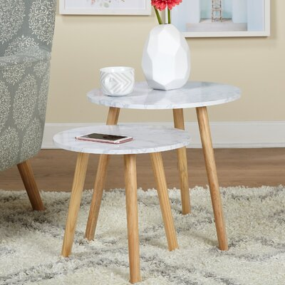 Bolanos 2 Piece Nesting Tables
