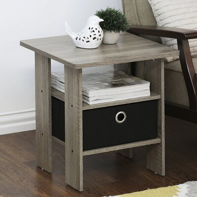 Kenton Petite End Table Finish: Oak Brown