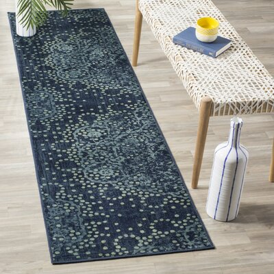 Stave Multi-Colored Area Rug Rug Size: 33 x 57