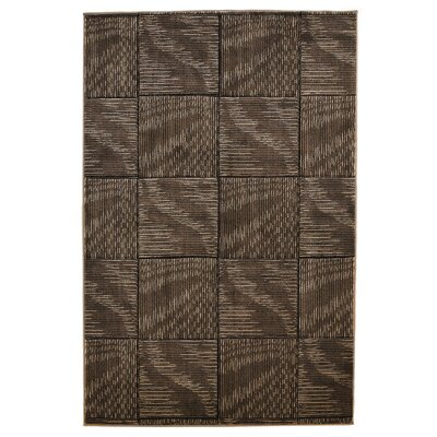 Boler Brown/Beige Area Rug Rug Size: Runner 111 x 210