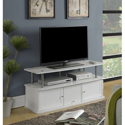 Edwin 47.25 TV Stand Color: White