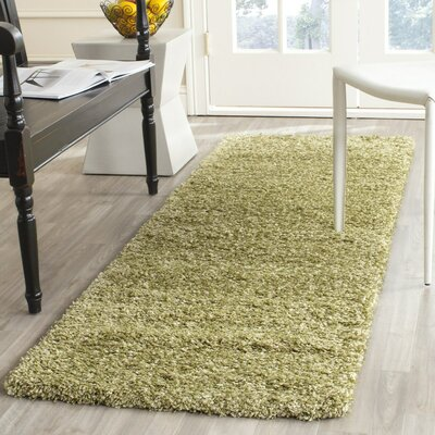 Green Boice Area Rug Rug Size: Runner 23 x 11