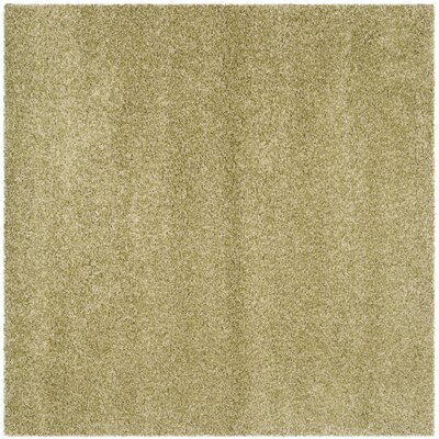 Holliday Green Area Rug Rug Size: Square 67
