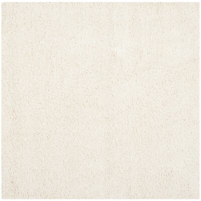 Starr Hill Solid Ivory Area Rug Rug Size: Square 51