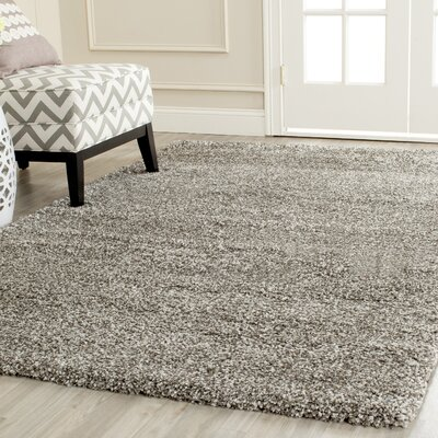 Holliday Grey Rug Rug Size: 3 X 3 Round