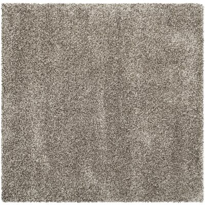 Holliday Grey Rug Rug Size: Square 7