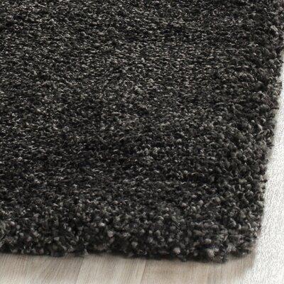 Boice Dark/Gray Rug Rug Size: Runner 2' x 6'