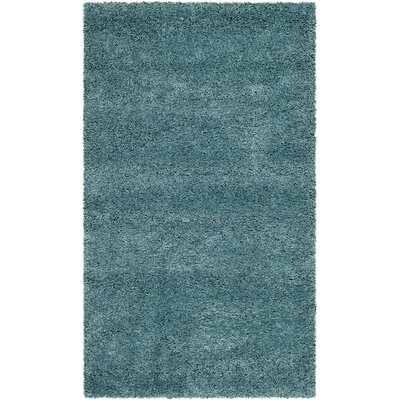 Starr Hill Aqua Blue Area Rug Rug Size: Rectangle 4 x 6