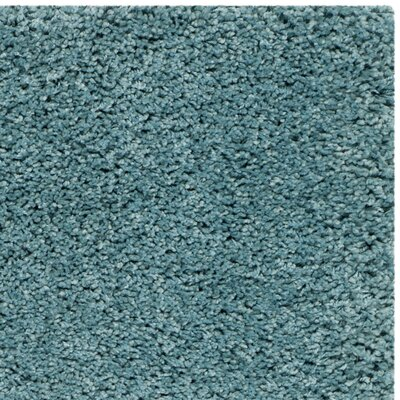 Starr Hill Aqua Blue Area Rug Rug Size: Rectangle 2 x 4