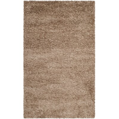 Holliday Brown Area Rug Rug Size: Rectangle 4 x 6