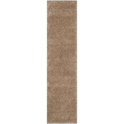 Holliday Brown Area Rug Rug Size: Runner 2 x 8